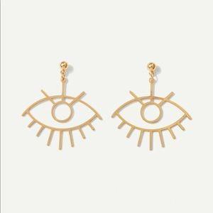🆕 Hollow Eye Earrings